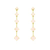 Gold Astraea Drop Earring