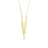 Gold After Glow Pendant Necklace