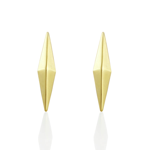 Gold Petite Coquette Studs Earrings