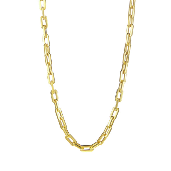 Gold Sol Link Necklace