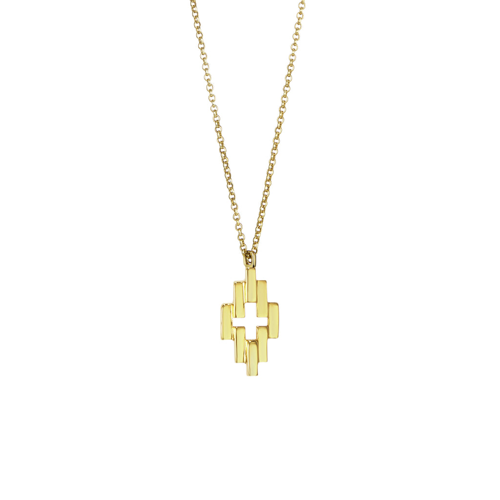 Gold Small Aura Pendant Necklace