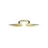 Gold Dual Coquette Ring