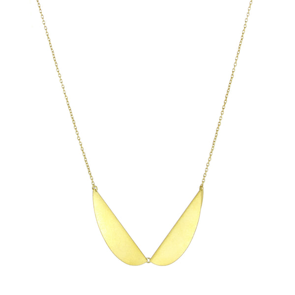 Gold Meridian Collar Necklace