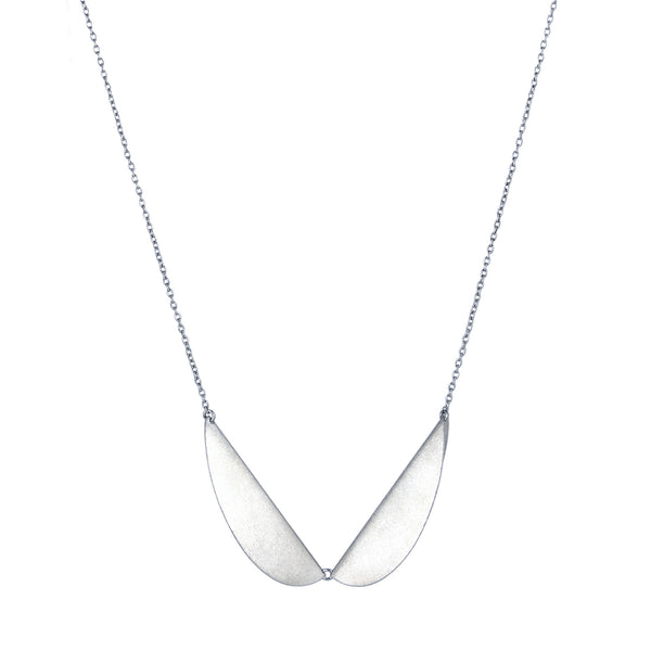 Silver Meridian Collar Necklace