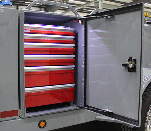 6 Drawer Tool Chest for ADT Trailers