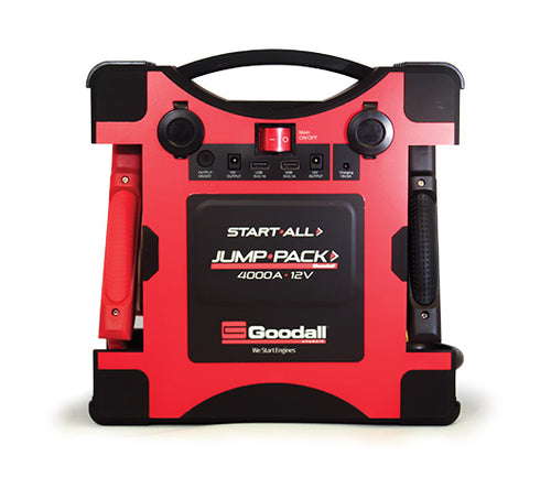 NEW! StartAll Jump Pack 12V 4000A