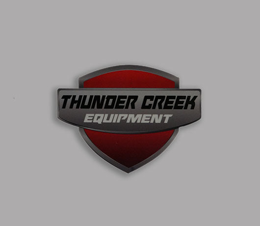 Tce Red Shield Decal Thunder Creek Equipment