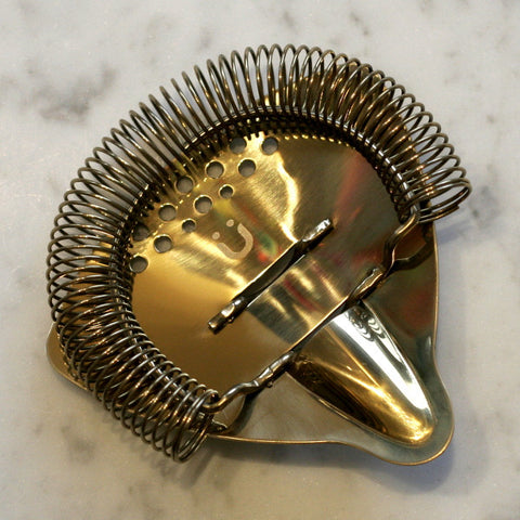 Gold-plated Hawthorne Strainer