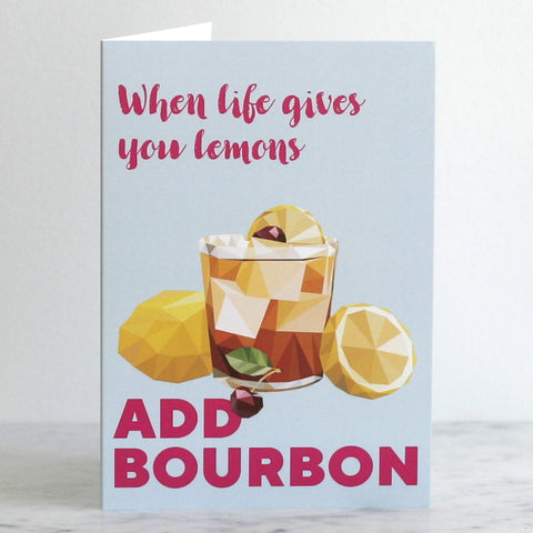 'When Life Gives You Lemons' Greeting Card