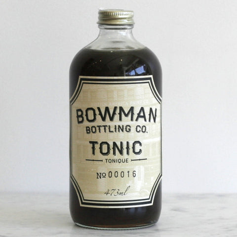 Bowman Bottling Co. Tonic Syrup Concentrate