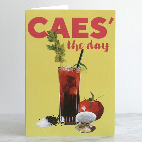 'Caes' The Day' Greeting Card