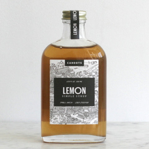 Cahoots Lemon Simple Syrup
