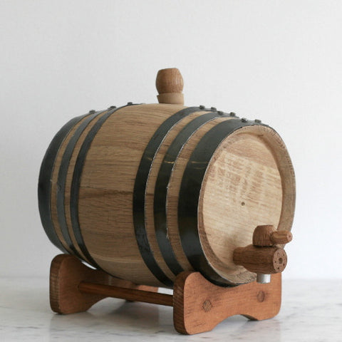 Charred Oak Barrel - Various Sizes