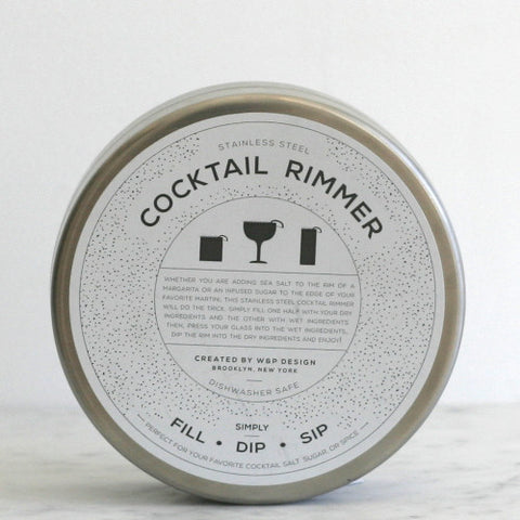 Stainless Steel Cocktail Rimmer
