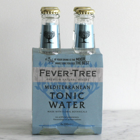 Fever Tree Mediterranean Tonic - 4 Pack