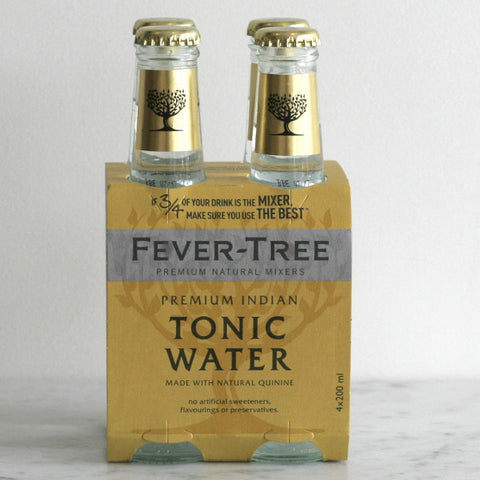 Fever Tree Indian Tonic Water - 4 Pack