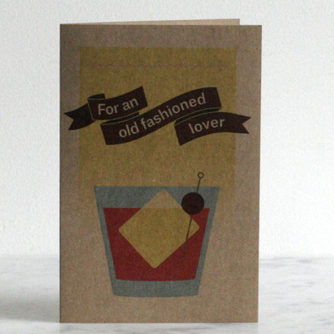 Old Fashioned Lover Greeting Card