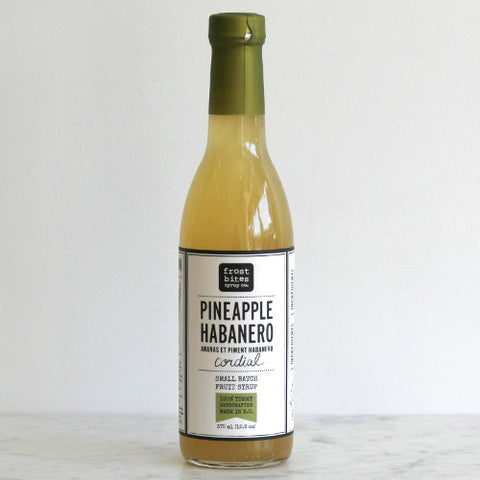 Frostbites Pineapple Habanero Cordial Syrup