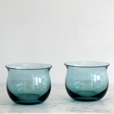 Tinted Crystal Issi Tumblers - Set of 2 Shoal Blue