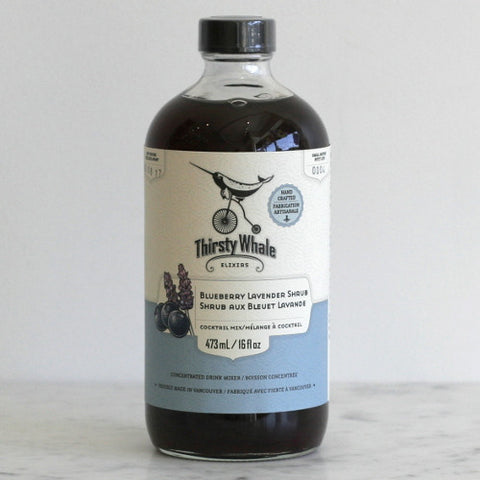 Thirsty Whale Elixirs Blueberry Lavender Shrub