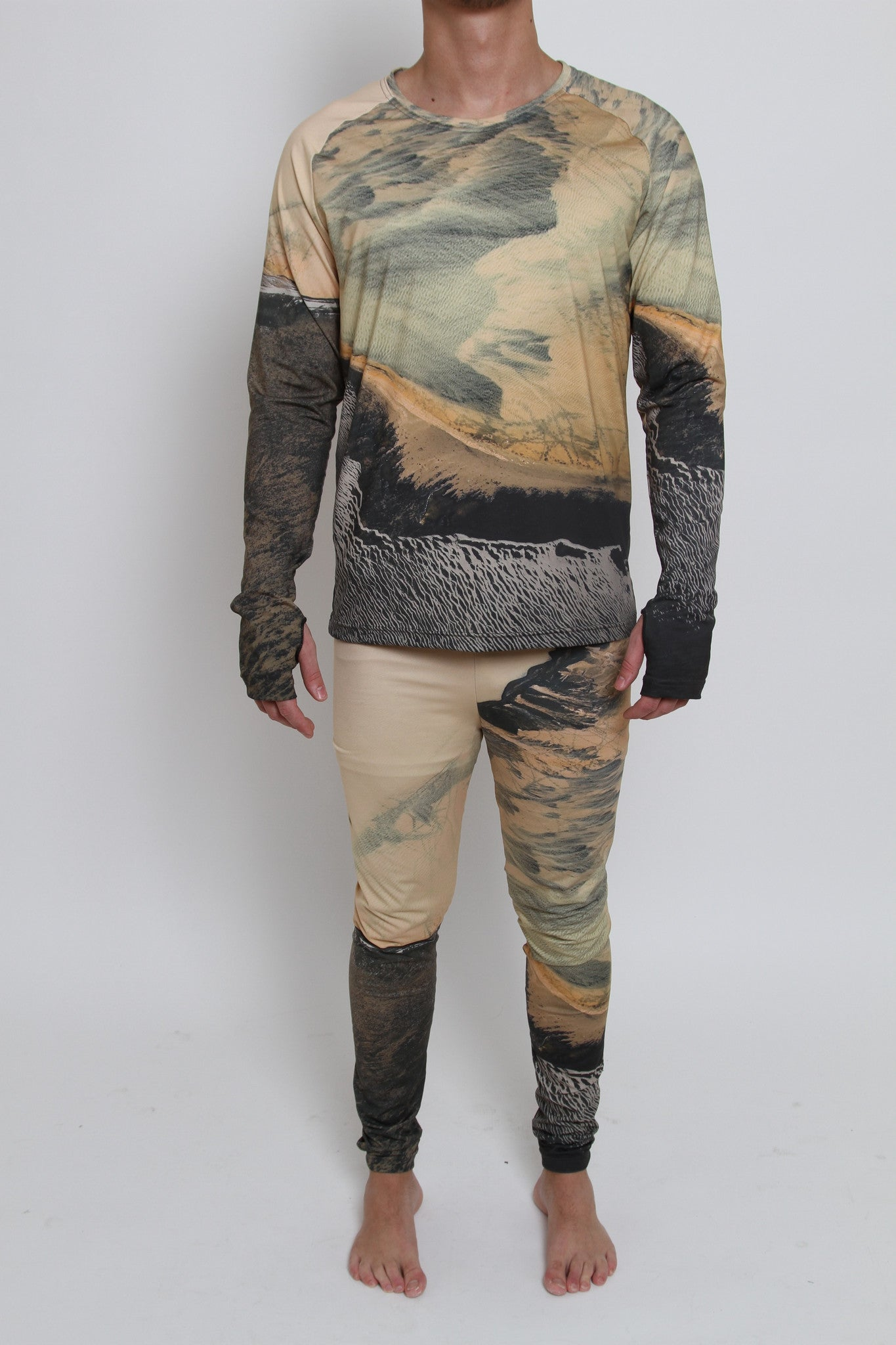 Leggings/Meggings - SAND