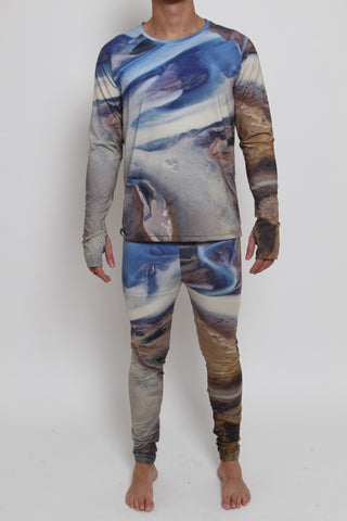 Leggings/Meggings - BLUE