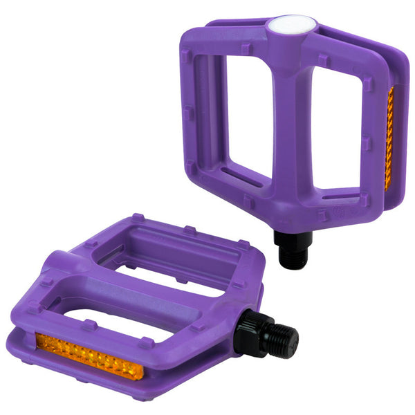 Retrospec Bicycles - Low Profile Pedals Purple, Critical Cycles - 6