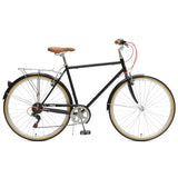 Critical Cycles - Beaumont 7-Speed Diamond City Bike Black / 50cm / s, Critical Cycles - 4