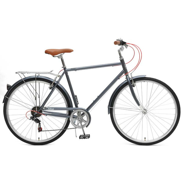 Critical Cycles - Beaumont 7-Speed Diamond City Bike Charcoal / 50cm / s, Critical Cycles - 5