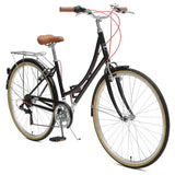 Critical Cycles - Beaumont 7-Speed Step-Thru City Bike , Critical Cycles - 6