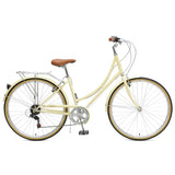 Critical Cycles - Beaumont 7-Speed Step-Thru City Bike Cream / Small / Medium 38cm, Critical Cycles - 9