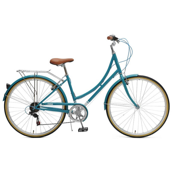 Critical Cycles - Beaumont 7-Speed Step-Thru City Bike Turquoise / Small / Medium 38cm, Critical Cycles - 1