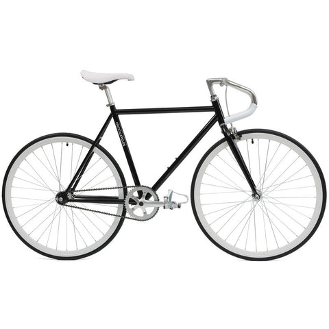 Critical Cycles - Fixed-Gear / Single Speed Bike with Pista Handlebars Black / 43cm-xs, Critical Cycles - 1
