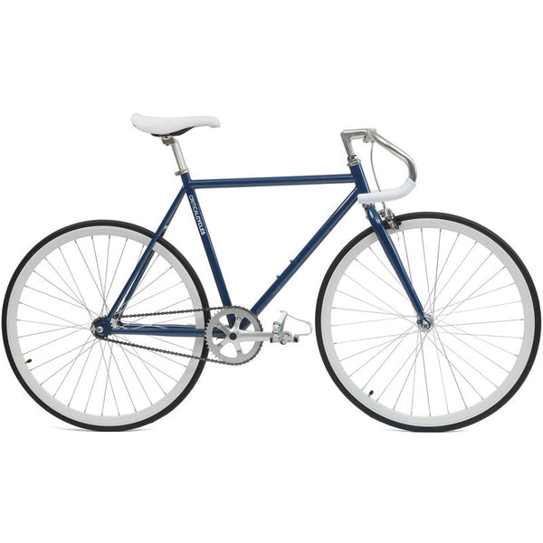 Critical Cycles - Fixed-Gear / Single Speed Bike with Pista Handlebars Navy Blue / 43cm-xs, Critical Cycles - 13