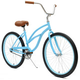 Critical Cycles - Step-Thru Single-Speed Beach Cruiser Bike , Critical Cycles - 4