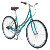 Critical Cycles - Step-Thru Three-Speed Urban Coaster Bike Turquoise / Step-Thru 44cm, Critical Cycles - 4