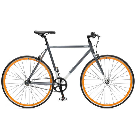 Critical Cycles - Harper Single-Speed / Fixie Graphite and Orange / 49cm / s, Critical Cycles - 1