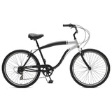 Critical Cycles - Chatham-7 Men's Beach Cruiser Bike Matte Black, Critical Cycles - 7