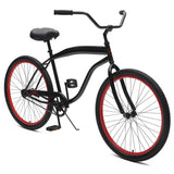 Critical Cycles - Chatham-1 Men's Single-Speed Beach Cruiser Bike , Critical Cycles - 4
