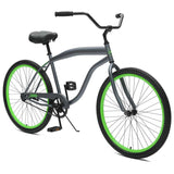 Critical Cycles - Chatham-1 Men's Single-Speed Beach Cruiser Bike , Critical Cycles - 2
