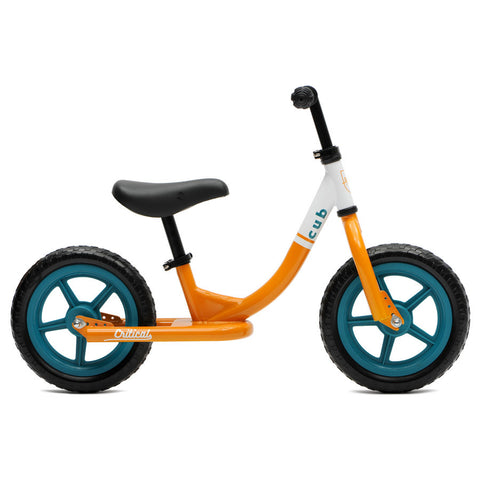 Critical Cycles - Cub Balance Bike Orange and Teal, Critical Cycles - 1