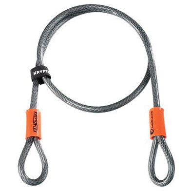 Kryptonite - Kryptonite Bike Lock KryptoFlex 410 Double Loop Cable , Critical Cycles