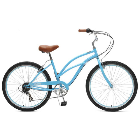 Critical Cycles - Chatham-7 Step-Thru Beach Cruiser Bike Sky Blue, Critical Cycles - 1