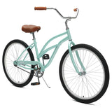 Critical Cycles - Chatham-1 Step-Thru Single-Speed Beach Cruiser Bike , Critical Cycles - 2