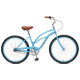 Critical Cycles - Chatham-3 Step Thru Beach Cruiser Bike Sky Blue, Critical Cycles - 7