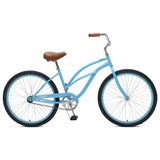 Critical Cycles - Chatham-1 Step-Thru Single-Speed Beach Cruiser Bike Sky Blue, Critical Cycles - 13