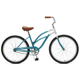 Critical Cycles - Chatham-1 Step-Thru Single-Speed Beach Cruiser Bike Turquoise, Critical Cycles - 7