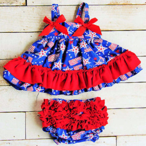 Americana Swing Top Set-Swing Top Set-CKCC-Cute Kids Clothing