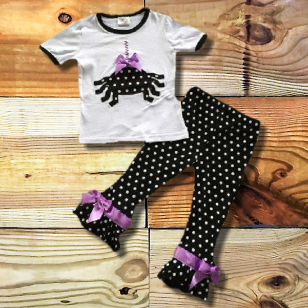 Polka Dot Spider Outfit-boutique-Cute Kids Clothing Company-Cute Kids Clothing