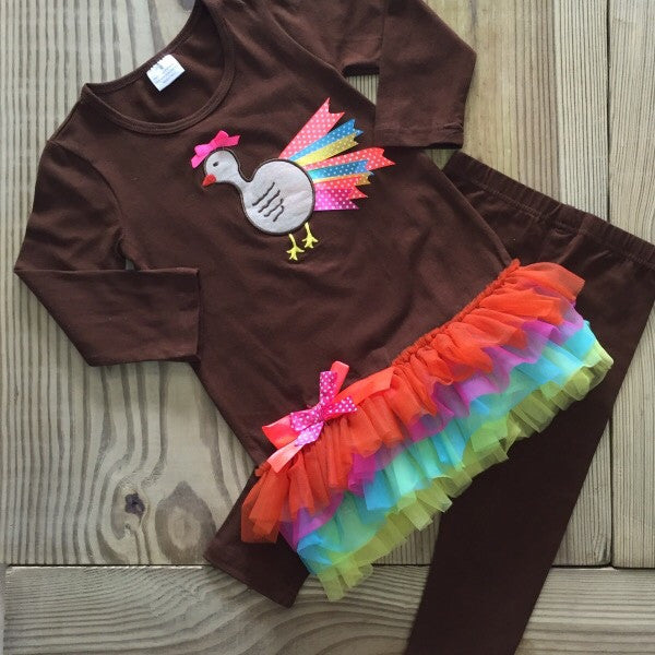 The Neon Turkey Outfit-Outfits & Sets-CKCC-Cute Kids Clothing